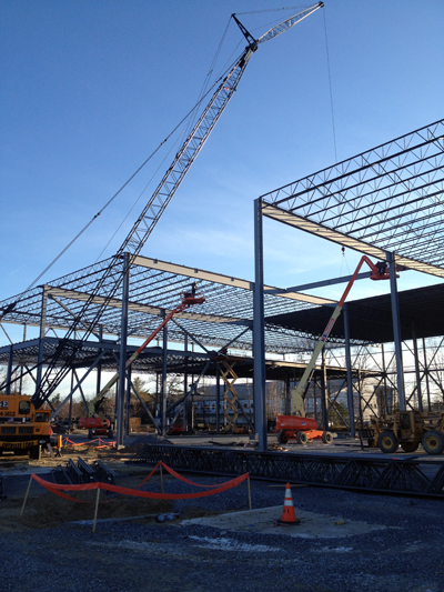 Toyota Of Colchester >> Structural Steel Erection – CSE, Inc.